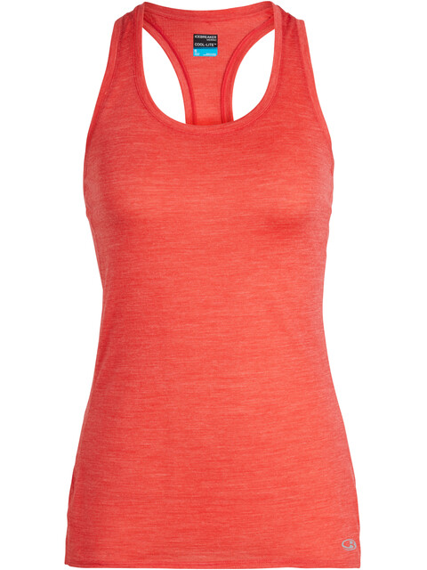 Icebreaker Amplify Racerback Tank Women ember heather